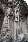 Atlas and Caryatid Stock Photography