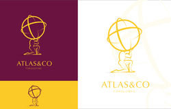 ATLAS, CORPORATE LOGO DESIGN Royalty Free Stock Image
