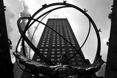 Atlas de centre de Rockefeller Image libre de droits
