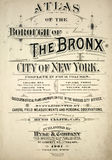 Atlas des Bronx Lizenzfreies Stockfoto