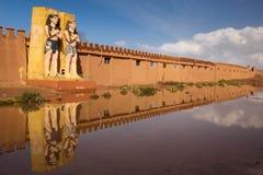 Atlas Film Studios. Ouarzazate. Morocco. Royalty Free Stock Photo
