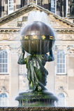 Atlas Fountain - Castle Howard - North Yorkshire - UK Royalty Free Stock Photo
