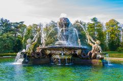 Atlas Fountain at Castle Howard, North Yorkshire, UK Stock Photos