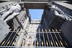 Atlas at the gates Royalty Free Stock Image