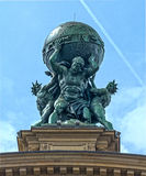 Atlas God Statue Stock Images