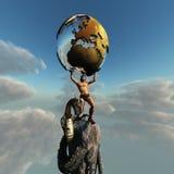 Atlas-Grieche-Gott
