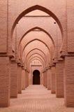 Atlas intérieur Maroc de mosquée de Tinmal haut Photo stock