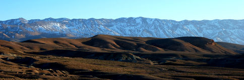 Atlas Mountain Range, Morocco Stock Image