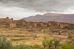 Atlas mountain town, Morocco Stock Images
