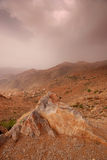 Atlas mountains. Rocky landscape in Atlas mountains, Morocco stock image