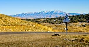 Atlas Mountains. High Atlas mountains in Morocco royalty free stock photos