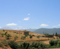 Atlas mountains 4 Royalty Free Stock Photo