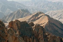 Atlas Mountains, Morocco stock images