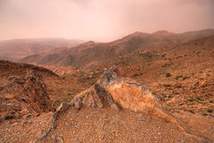 Atlas mountains in Morocco Royalty Free Stock Photography