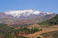 Atlas mountains in Morocco. Africa stock photography