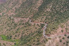 Atlas mountains in Morocco, North Africa Stock Photo