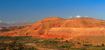 Atlas Mountains Panorama Stock Photography