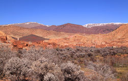 Atlas Mountains in spring, Morocco Royalty Free Stock Photography