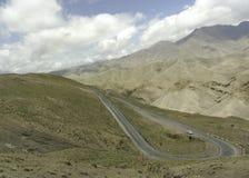 Atlas mountains way Royalty Free Stock Photo