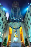 Atlas at Rockefeller Center Royalty Free Stock Image