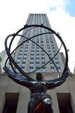 atlas Rockefeller centrum Manhattanu nowego Jorku obraz royalty free