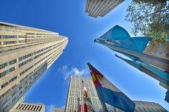 atlas Rockefeller centrum Manhattanu nowego Jorku Zdjęcia Stock