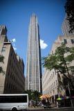 atlas Rockefeller centrum Manhattanu nowego Jorku Obrazy Stock