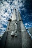Atlas Rocket Looking Up Lizenzfreie Stockbilder