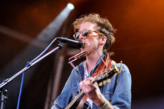 Atlas Sound (band) performs at San Miguel Primavera Sound Festival Royalty Free Stock Photography