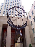 Atlas-Statue Stockbild
