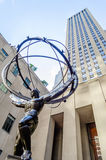 Atlas Statue, New York Stock Photo