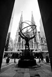 Atlas Statue, New York City Royalty Free Stock Photo