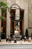 Atlas Statue, New York City Royalty Free Stock Images