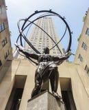 The Atlas Statue, NY Royalty Free Stock Image
