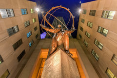Atlas Statue - Rockefeller Center, New York City Royalty Free Stock Photo