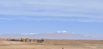 Atlas Studios Ouarzazate,april 20,2012 Royalty Free Stock Photos