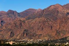 Atlas von Marokko Lizenzfreie Stockfotos