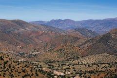Atlas von Marokko Stockbild