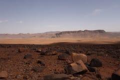 Atlasberge in Marokko Stockbild