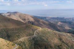 Atlasbergen in Marokko, Noord-Afrika Stock Afbeelding