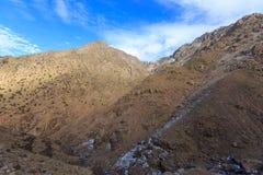 Atlasbergen Wild aardlandschap Stock Afbeeldingen