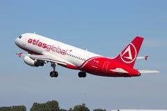 AtlasGlobal Airbus Photo libre de droits