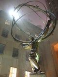 Atlasstandbeeld, de Stad van New York, NY, de V.S. Stock Afbeeldingen