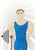 Atleet vector illustratie