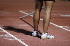 Atleet stock afbeelding