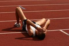 Atleet Stock Foto's