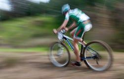 Atleet, fietsras royalty-vrije stock afbeelding