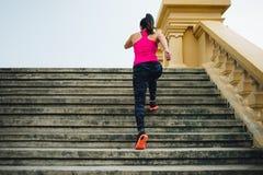 Atleet het lopen Stock Fotografie