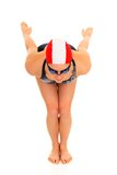 Atleet, vrouwelijke zwemmer Stock Afbeeldingen