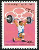 atleta Obraz Stock